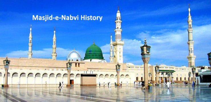 masjid nabvi history