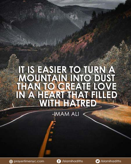 hazrat ali quote about love