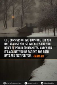 hazrat ali quote about life