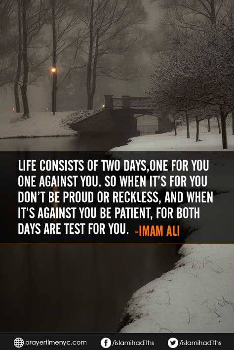 hazrat ali quote about life