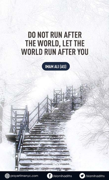 Hazrat Ali Quote about World