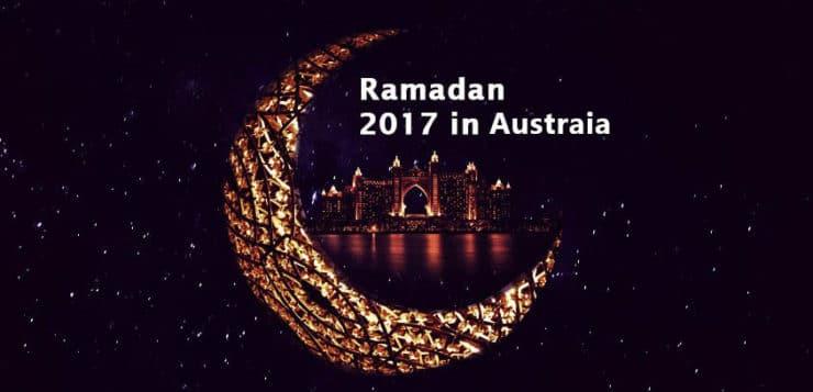 ramadan 2017 australia