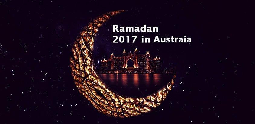 when is Ramadan in Australia