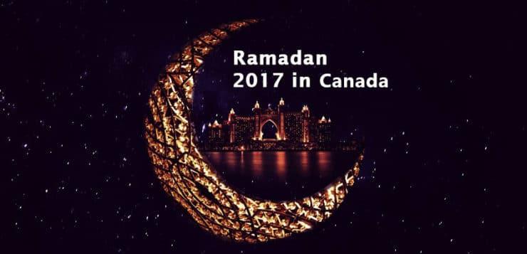 when is ramadan 2017 canada
