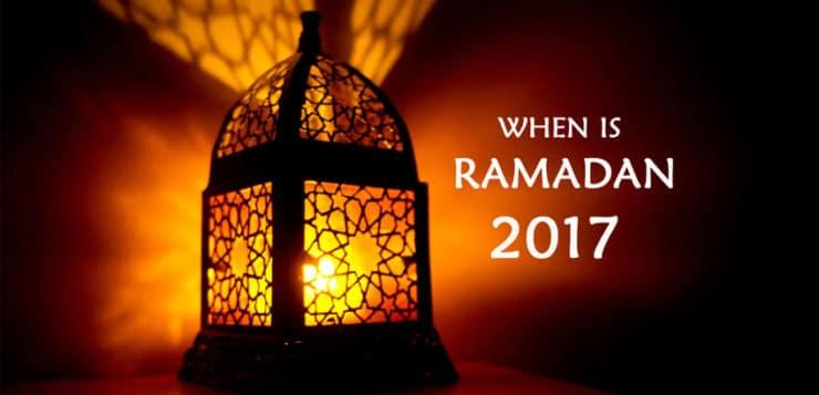 Ramadhan 2018 date