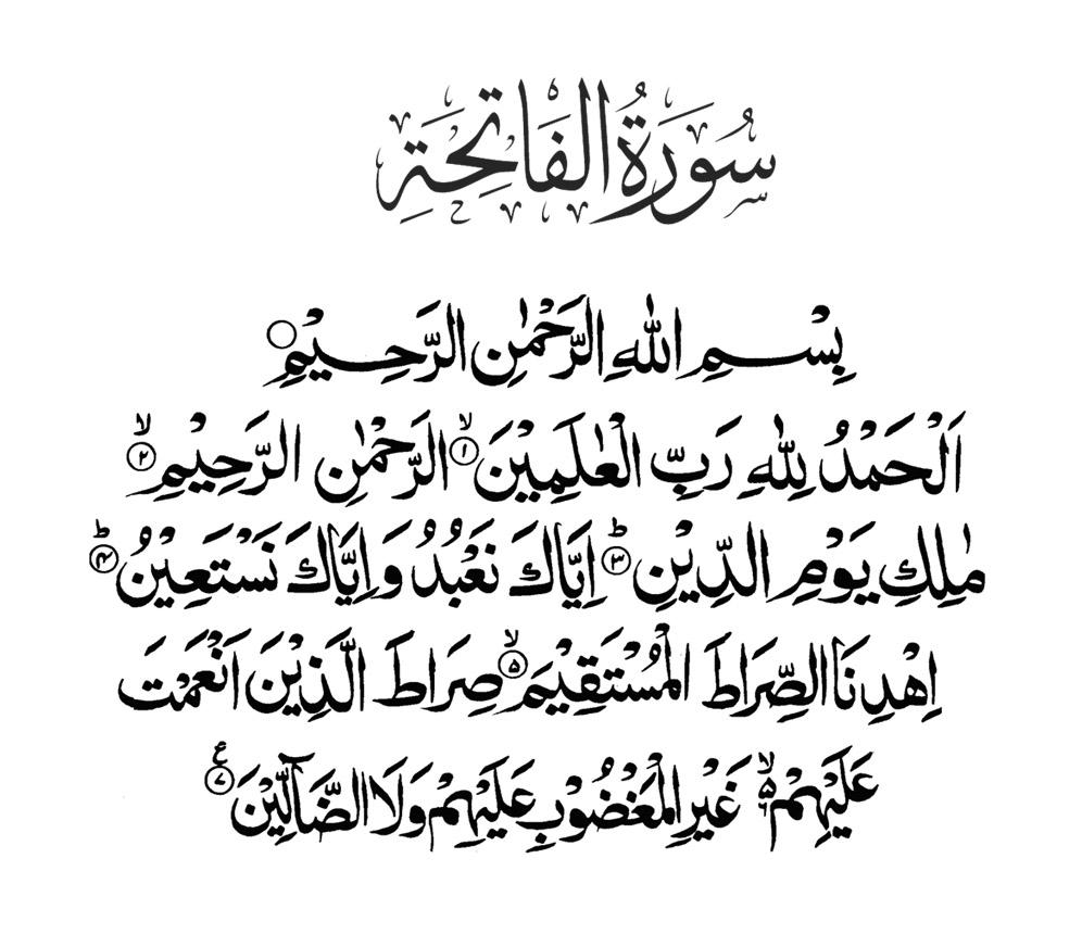surah fatiha ka wazifa