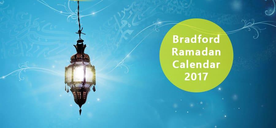 Bradford ramadan calendar 2018