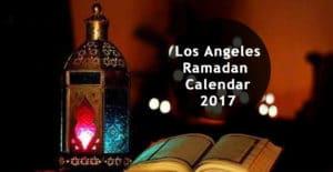 los angeles ramadan calendar