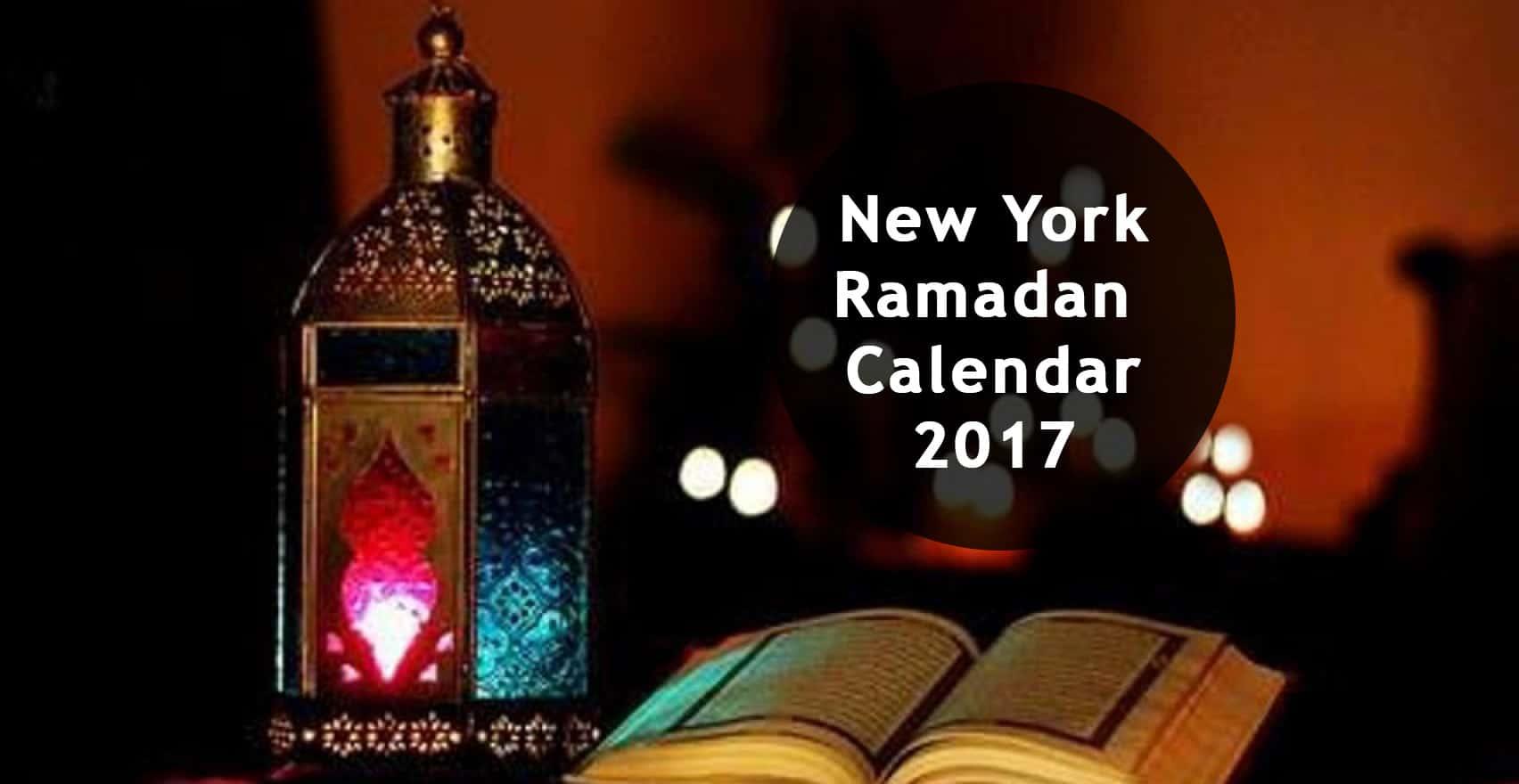 new york ramadan calendar 2018