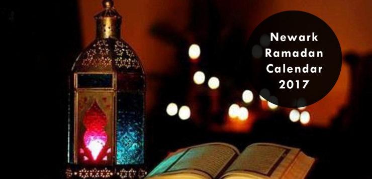 newark ramadan calendar 2017
