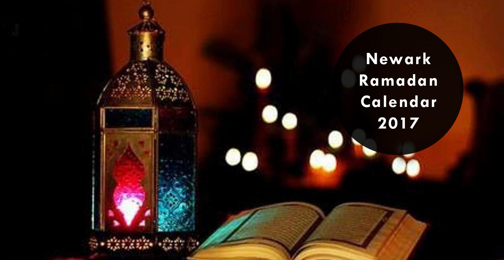 newark ramadan calendar 2018