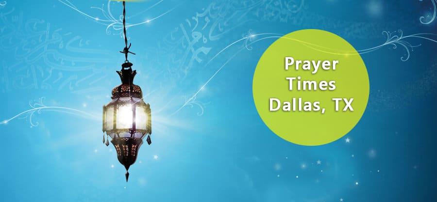 prayer times dallas