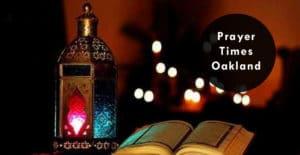prayer times oakland
