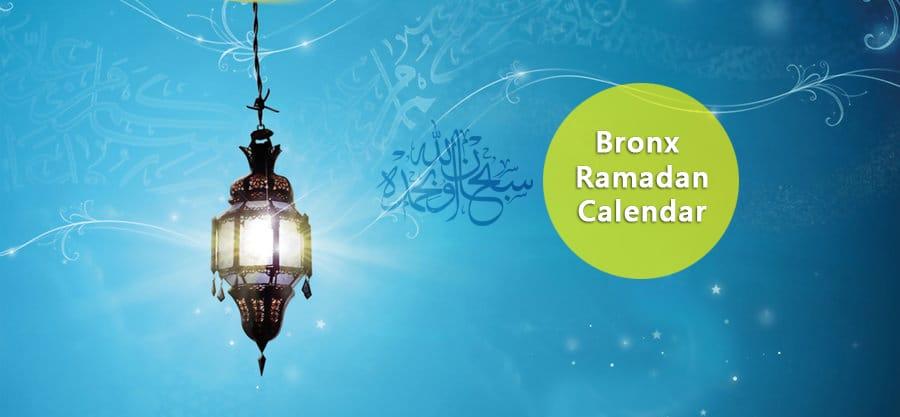Bronx Ramadan Calendar