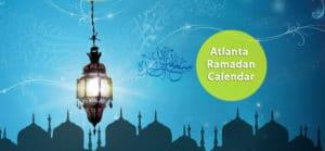 Atlanta Ramadan Calendar 2018
