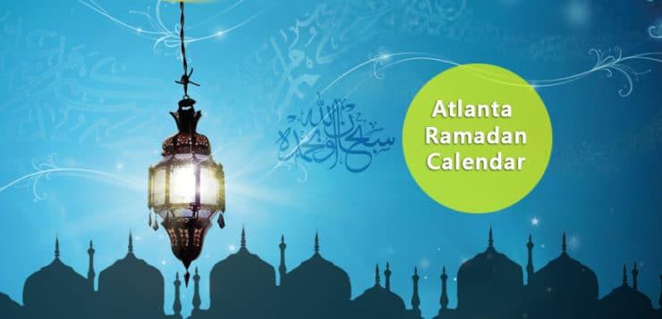 Atlanta Ramadan Calendar 2017