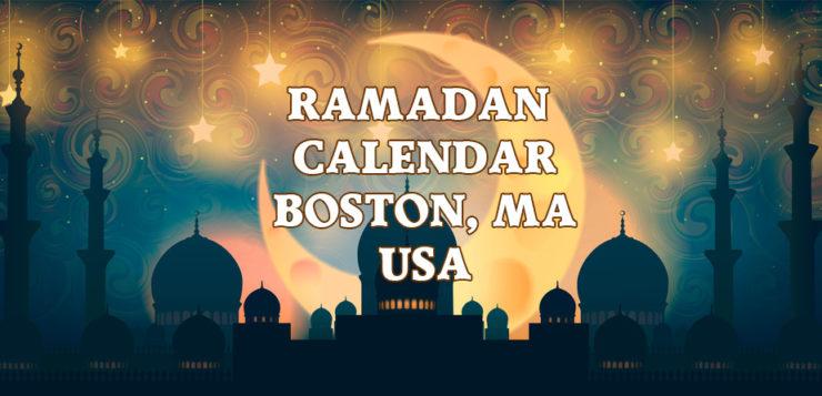 Boston Ramadan Calendar 2017
