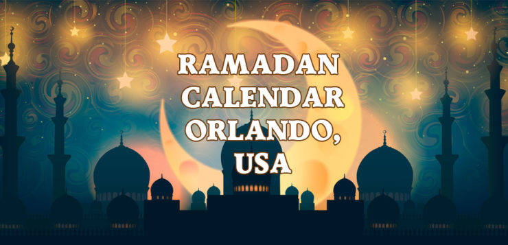 Orlando Ramadan Calendar 2017