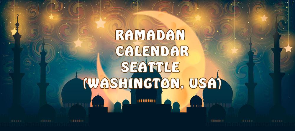 Ramadan Calendar Seattle