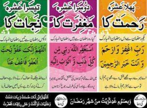 Ramadan ki dua