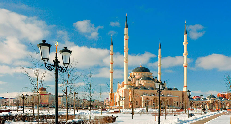 Most beautiful Akhmad Kadyrov Mosque