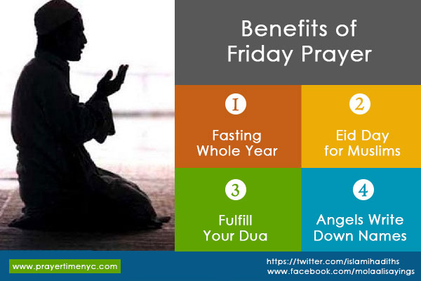 Benefits of Jumma Prayer