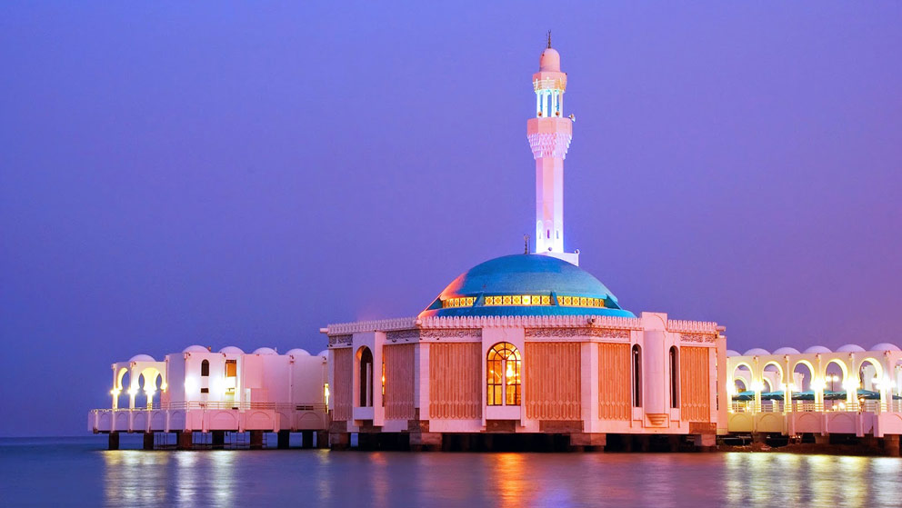 The Floating Mosque Saudi Arabia