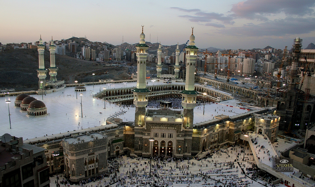Al-Haram most beautiful Mosque in Saudi Arabia