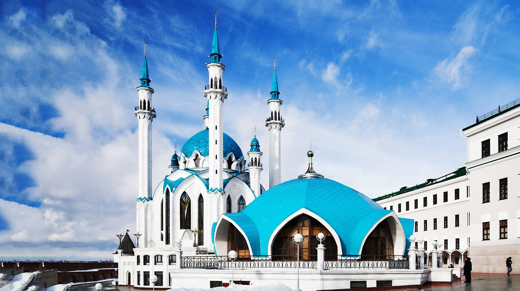 Russia beautiful Qolsharif Mosque