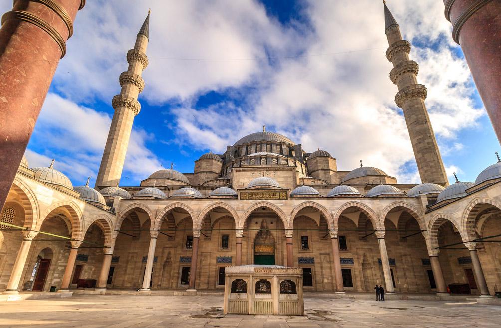Magnificent Suleymaniye Mosque Istanbul Turkey