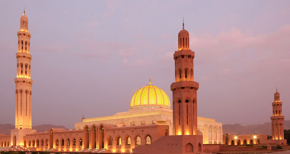 Stunning Sultan Qaboos Grand Mosque
