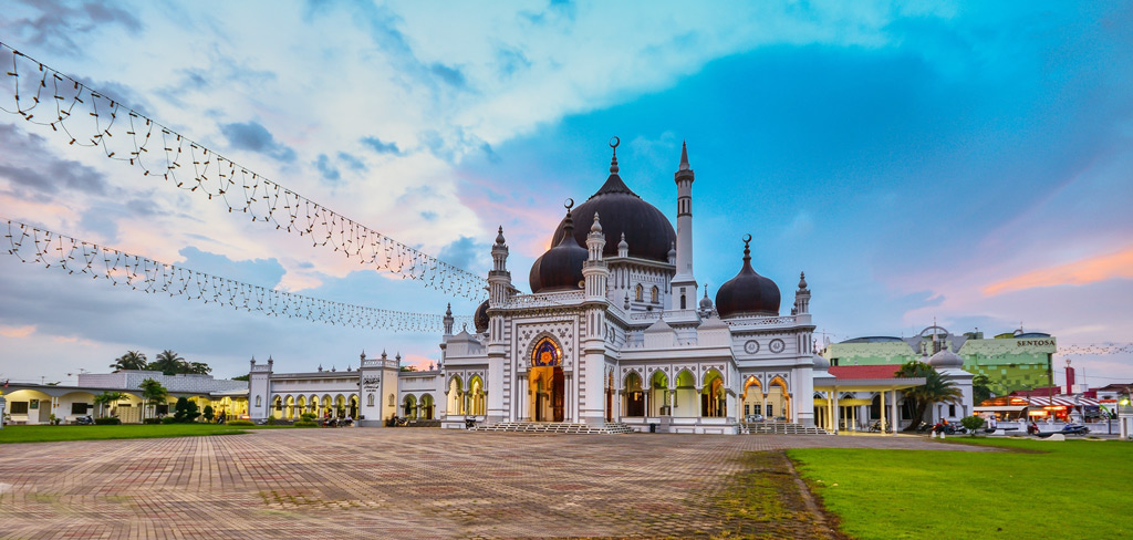 Stunning Zahir Mosque Malaysia
