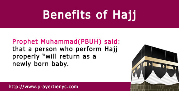 Benefits of Hajj