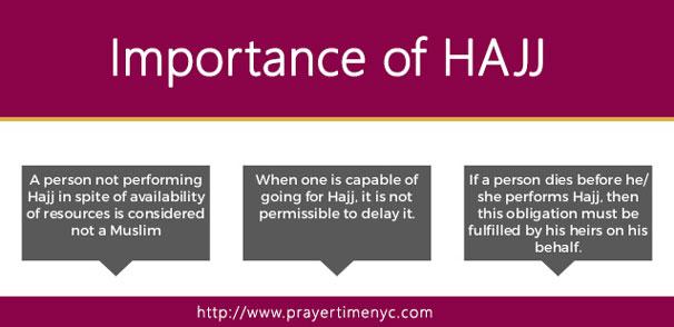 Importance of Hajj