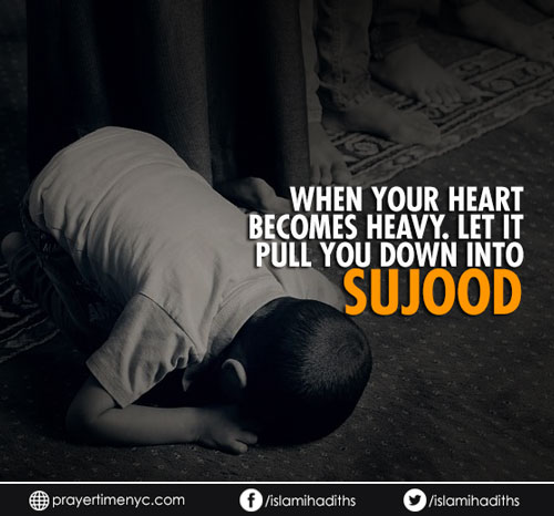 benefit of sujood