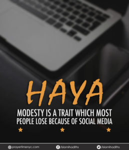 islamic quotes about haya