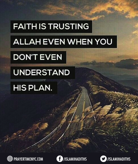 quote about faith in Allah