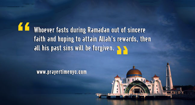 16 Fasting Hadith to Get Unlimited Blessings of Allah in Ramadan