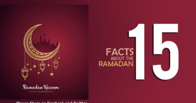 15 facts about the ramadan