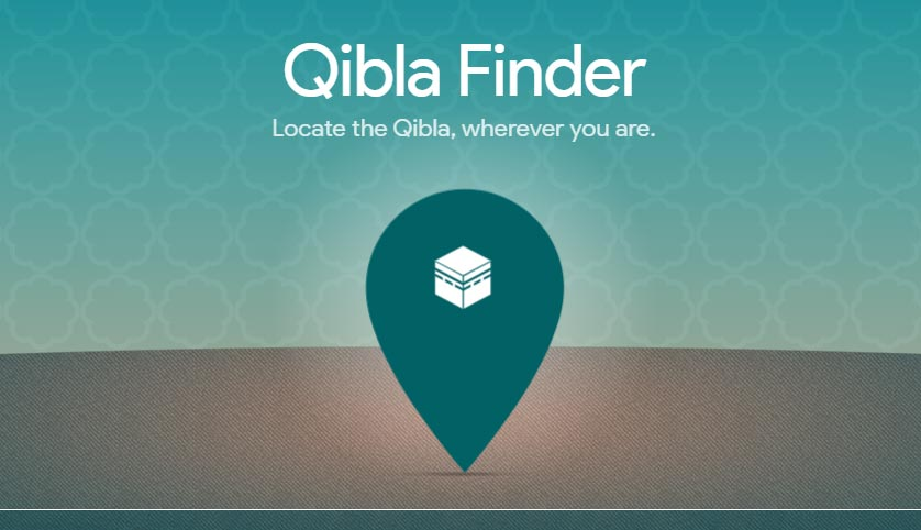 How to find Qibla direction